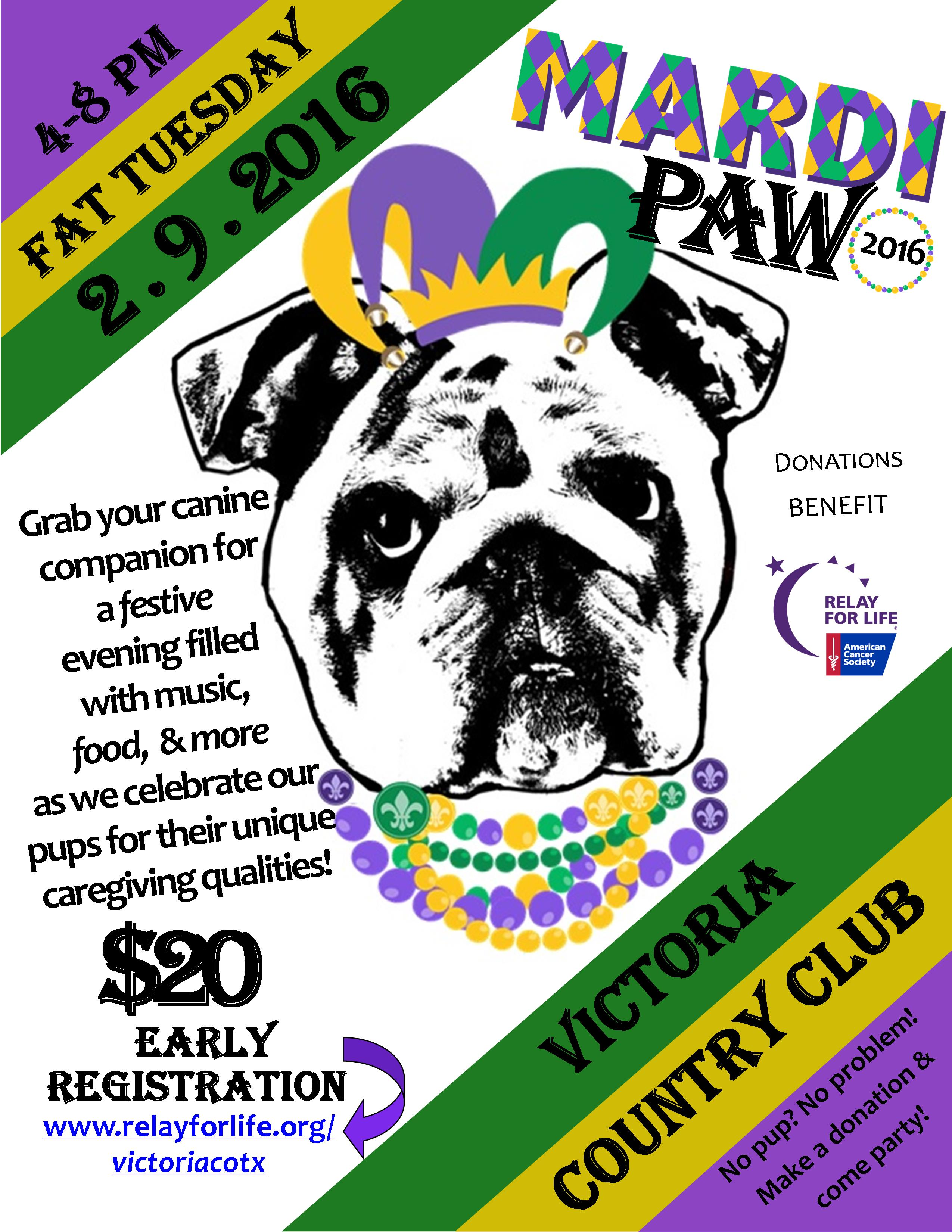bark for life flyer