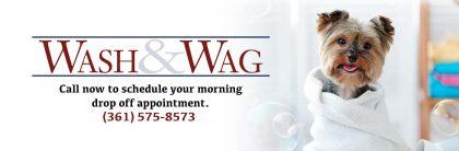 WASH & WAG (December 17th & 18th)