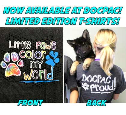 Now Available at DOCPAC! Limited Edition T-Shirts!